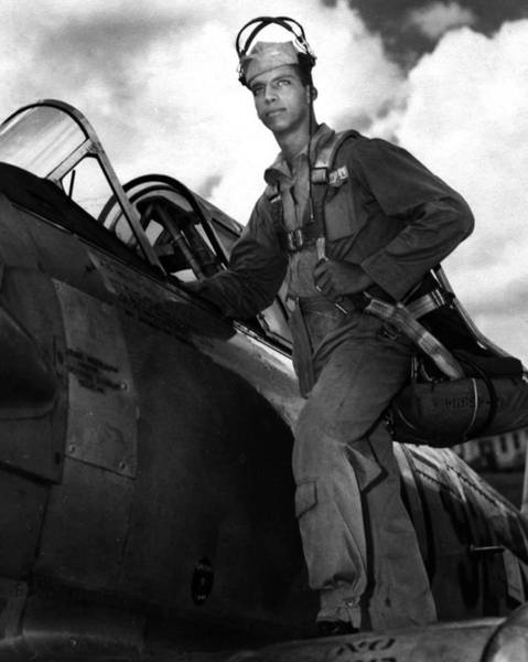 Bomber Photograph - Tuskegee Airmen by Retro Images Archive