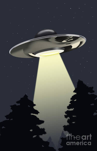 Photograph - Ufo by Spencer Sutton