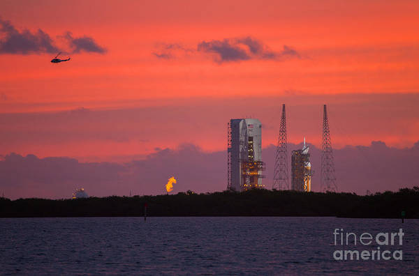 Delta Iv Photograph - Ula Launch Complex, Cape Canaveral by Chris Cook