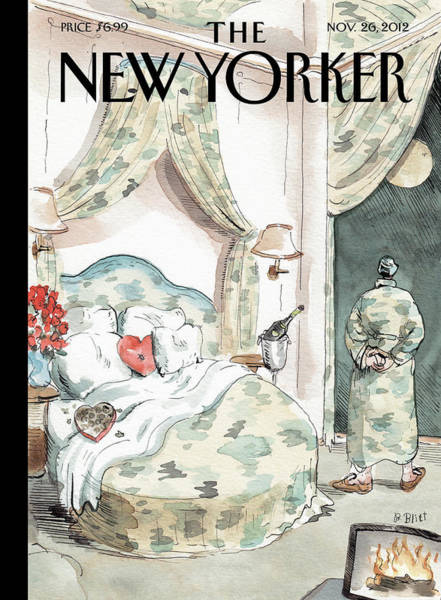Affair Painting - New Yorker November 26th, 2012 by Barry Blitt