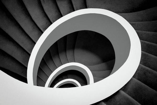 Geometric Photograph - Untitled by Inge Schuster