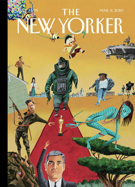 Painting - New Yorker March 8th, 2010 by Mark Ulriksen
