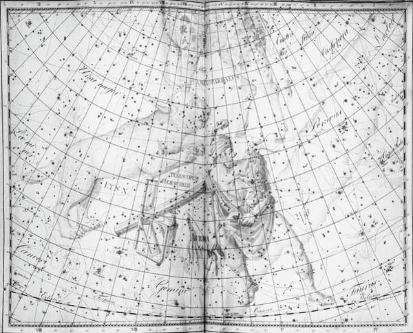 Wall Art - Photograph - Uranographia Constellations by Royal Astronomical Society/science Photo Library