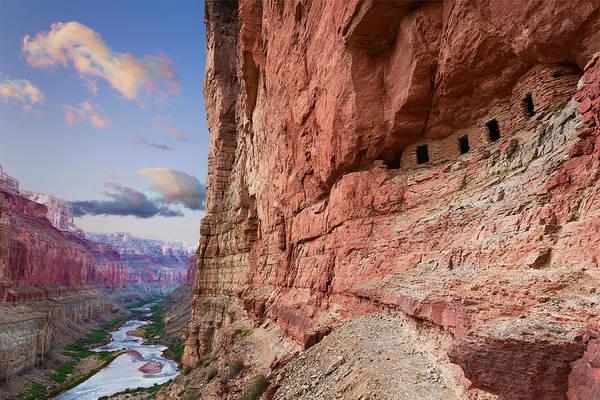 Anasazi Ruin Photograph - Usa, Arizona, Grand Canyon, Colorado by John Ford