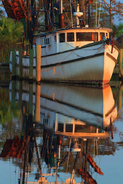 Shrimp Boat Wall Art - Photograph - Usa, Florida, Apalachicola, Shrimp Boat by Joanne Wells