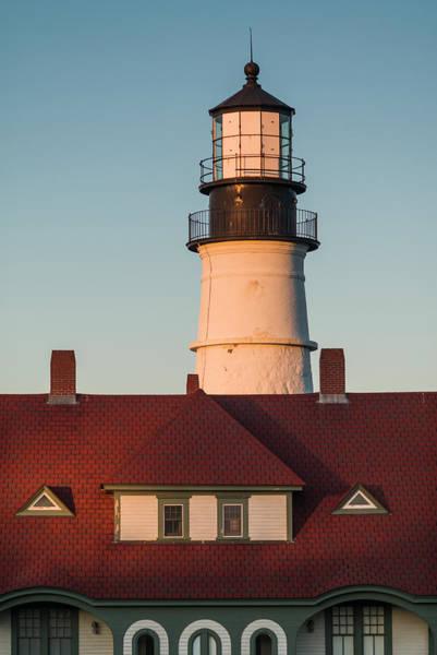 Cape Elizabeth Photograph - Usa, Maine, Portland, Cape Elizabeth by Walter Bibikow