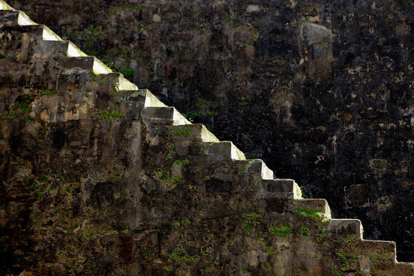 Fortification Photograph - Usa, Puerto Rico, San Juan by Kymri Wilt