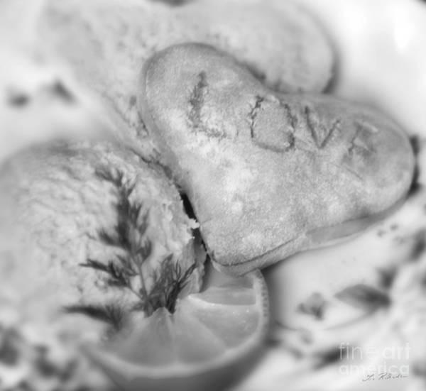 Wall Art - Photograph - Valentines Breakfast Love by Iris Richardson