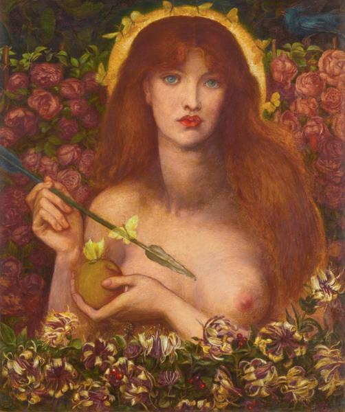 Gabriel Painting - Venus Verticordia by Dante Gabriel Rossetti