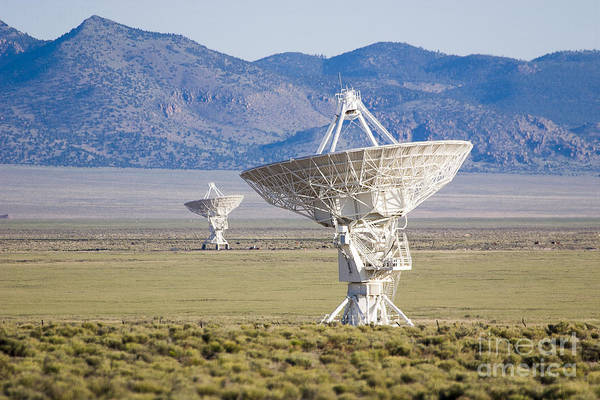 Photograph - Very Large Array by Steven Ralser