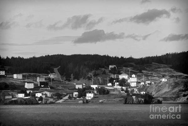 Photograph - Village In Newfoundland by Les Palenik