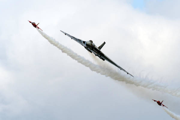 Photograph - Vulcan And Gnats by Gary Eason