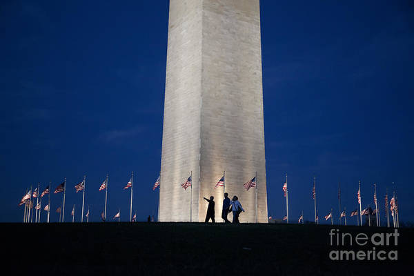 Photograph - Washington Monument by Jim West