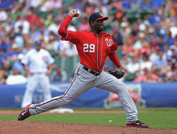 Season Photograph - Washington Nationals V Chicago Cubs by Jonathan Daniel