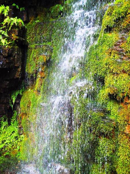 Photograph - Waterfall - Ausable Chasm - Ny by Cristina Stefan