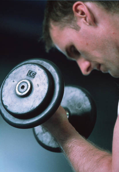 Wall Art - Photograph - Weight Training by Matthew Munro/science Photo Library