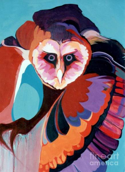 Painting - What A Hoot by Marlene Burns