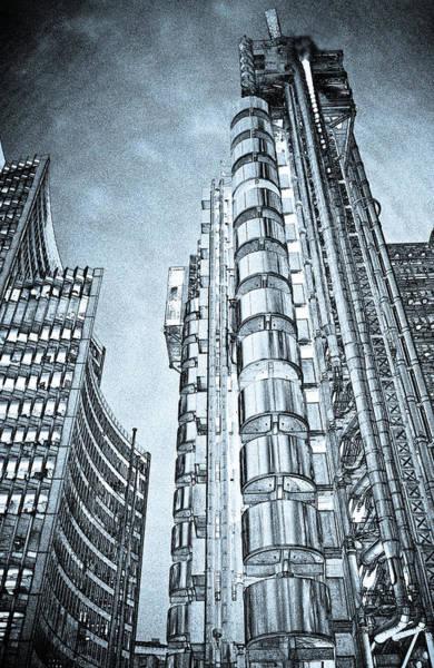 Lloyd Digital Art - Willis Group And Lloyd's Of London Art by David Pyatt