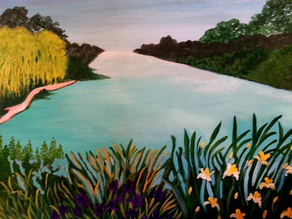 Painting - Willows by Nikki Dalton