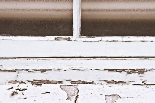 Maintenance Photograph - Window Frame by Tom Gowanlock