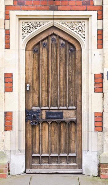 Archway Photograph - Wooden Door by Tom Gowanlock