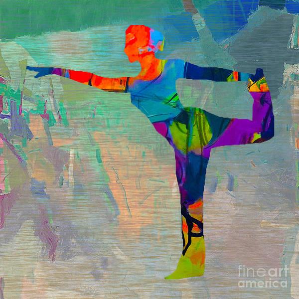 Wall Art - Mixed Media - Yoga by Marvin Blaine