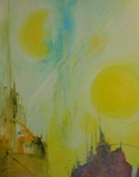 Lyle Painting - Abstract Exhibit by Lord Frederick Lyle Morris - Disabled Veteran
