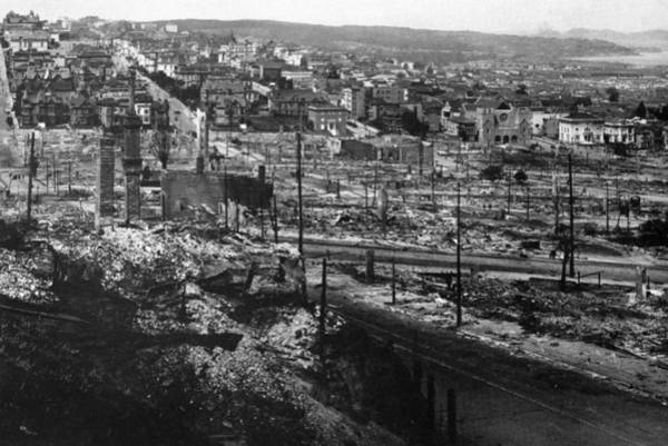 Photograph - San Francisco Earthquake by Granger