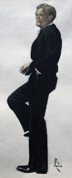 Gatsby Study 4 Art Print