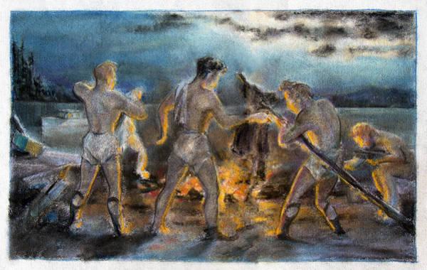 Painting - Beelzebub by Robert Poole
