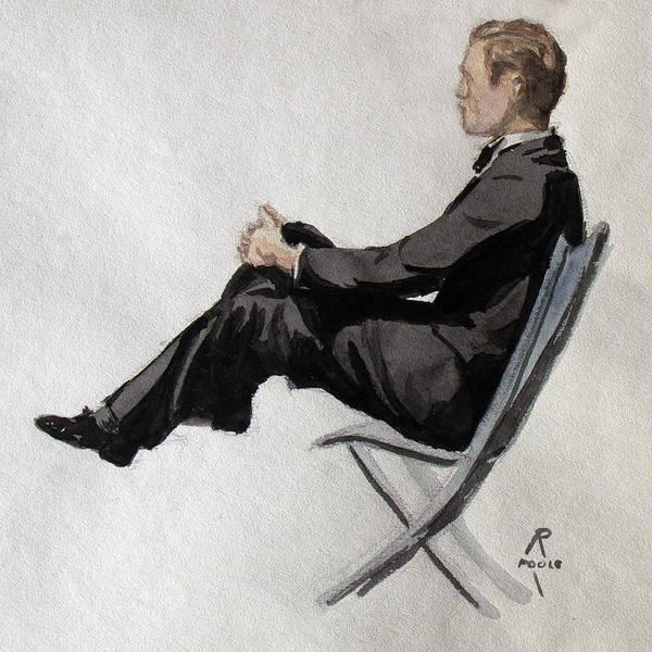 Gatsby Study 2 Art Print
