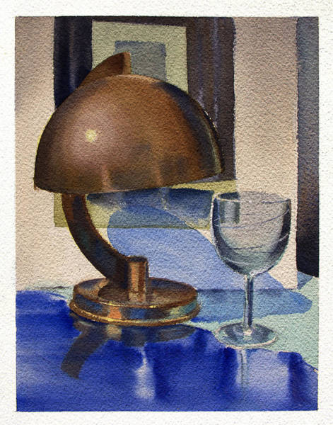 Painting - Still Study 2 by Robert Poole