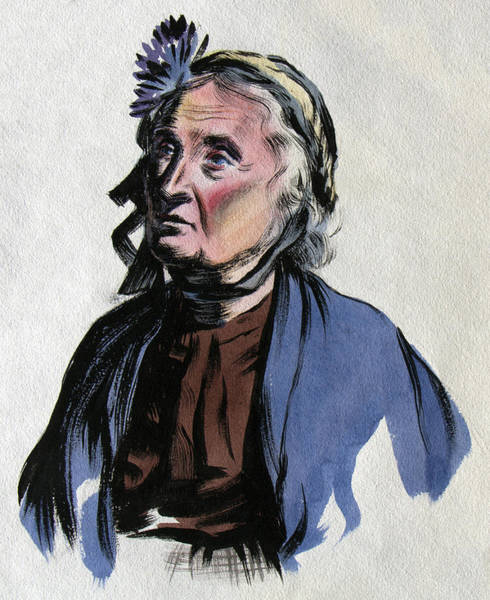 Painting - Aunt Edna by Robert Poole