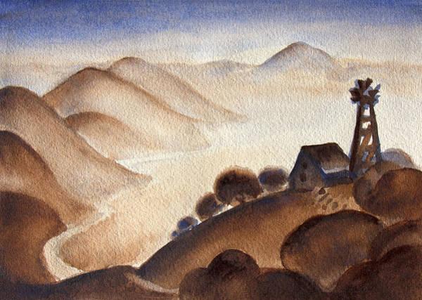 Painting - Americana Homeland by Robert Poole