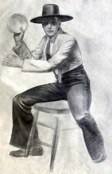 Tambourine Man Art Print
