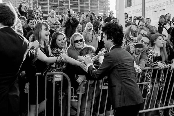 Green Day Photograph - 30th Annual Rock And Roll Hall Of Fame by Mike Coppola