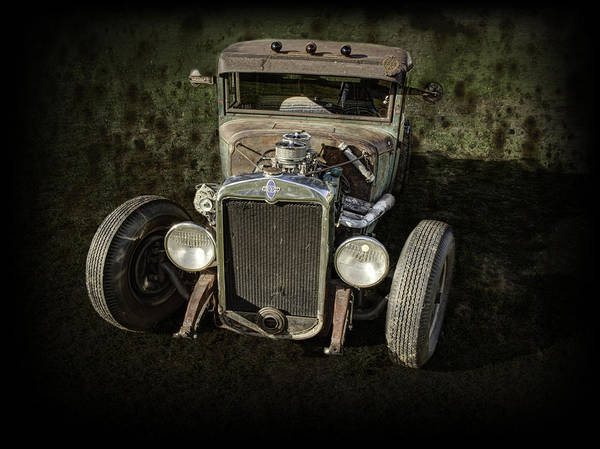 31 Chevy Rat Rod Art Print