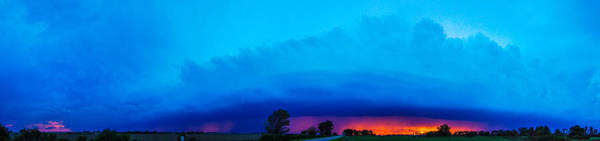 Photograph - Excellent Severe T-boomers South Central Nebraska by NebraskaSC
