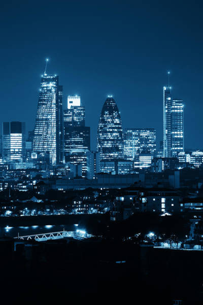 Photograph - London Cityscape by Songquan Deng