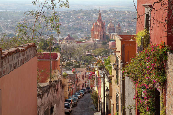 Catholic Church Photograph - Mexico, San Miguel De Allende by Jaynes Gallery