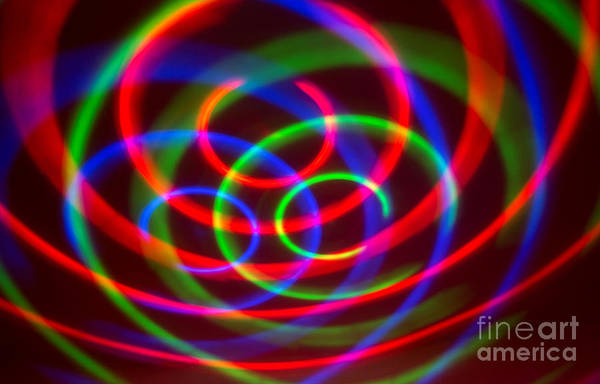 Photograph - Colorful Abstract Forms by Odon Czintos
