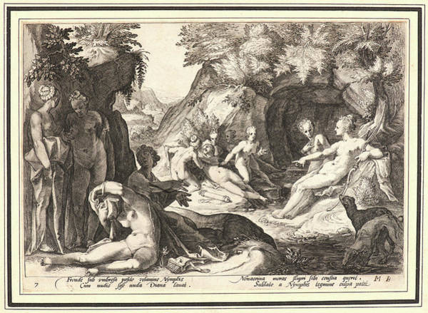 Pregnancy Drawing - Anonymous After Hendrick Goltzius Dutch by Litz Collection