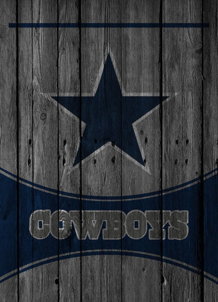 Super Photograph - Dallas Cowboys by Joe Hamilton