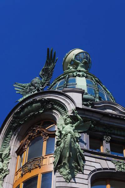 Nouveau Photograph - Russia, Saint Petersburg, Center by Walter Bibikow