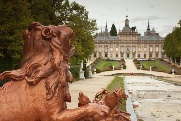 Castle Garden Photograph - Spain, Castilla Y Leon Region, Segovia by Walter Bibikow