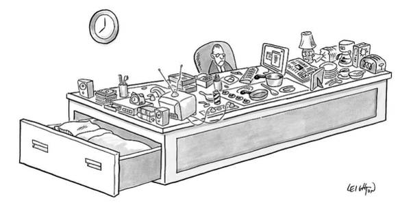 Employment Drawing - New Yorker September 1st, 2008 by Robert Leighton