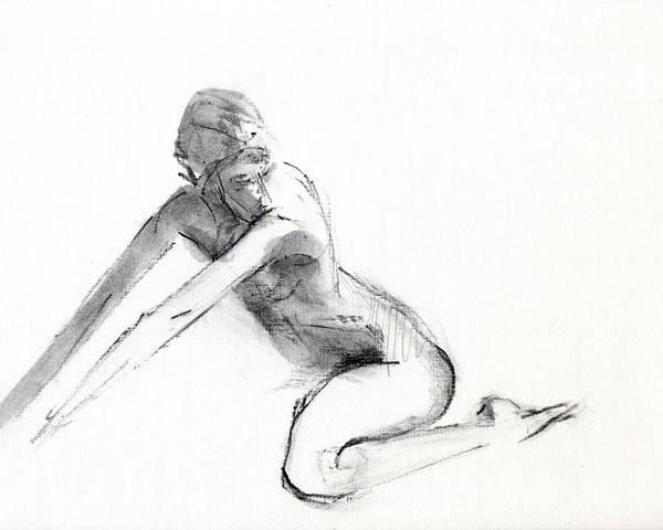 Figure Drawing - Rcnpaintings.com by Chris N Rohrbach