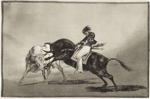 El Toro Photograph - Goya Y Lucientes, Francisco De by Everett
