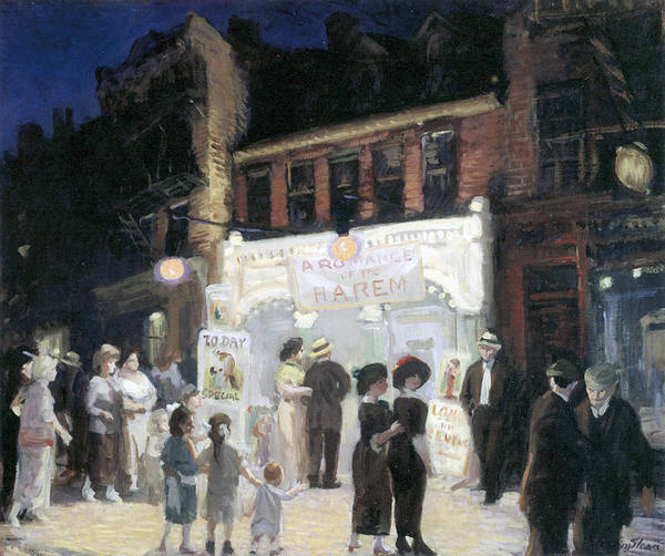 Photograph - Movies by John Sloan