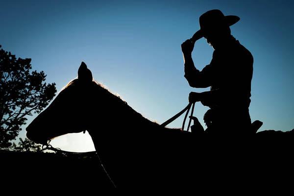 Horseback Photograph - Santa Fe, New Mexico, United States by Julien Mcroberts